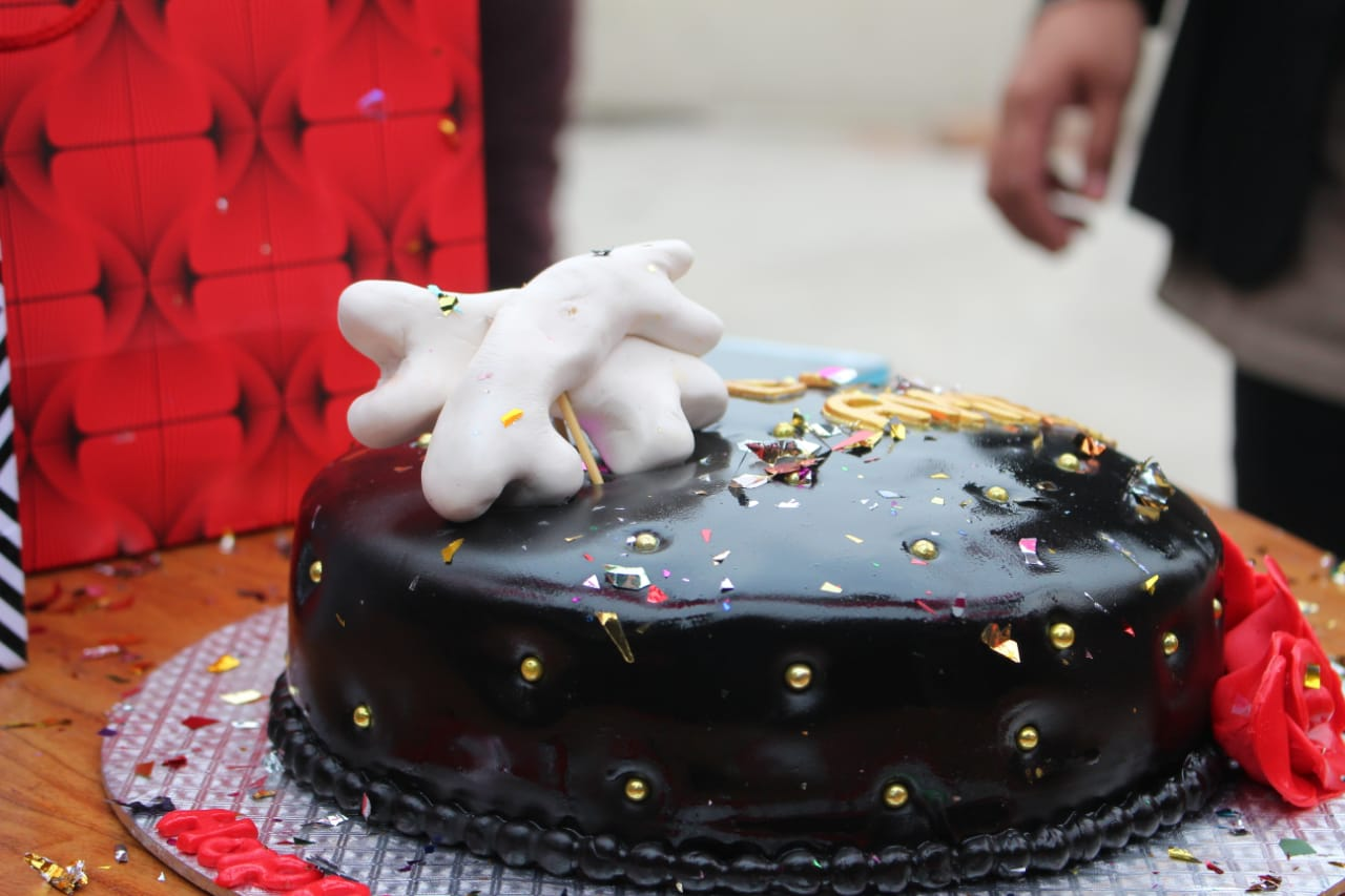 Bone Theme Cake