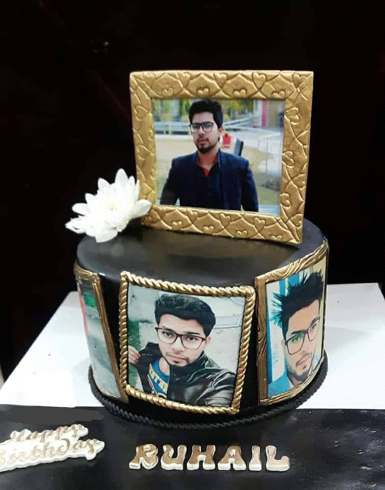 Man picture cake