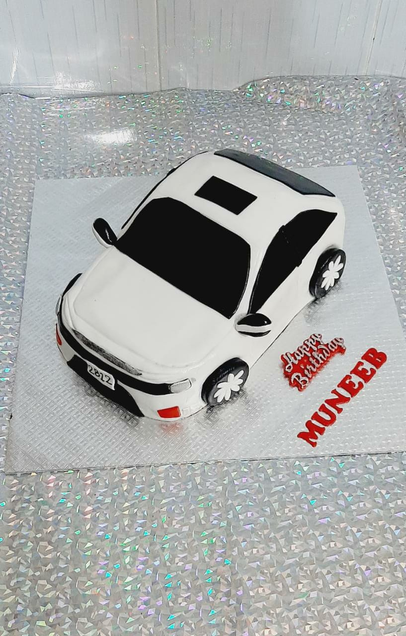 Honda civic car cake
