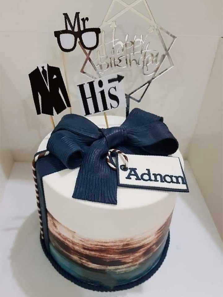 Man Cake Design