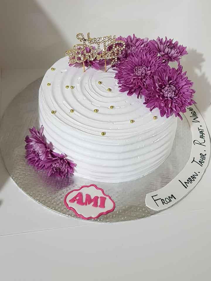 Imported Flower Cake