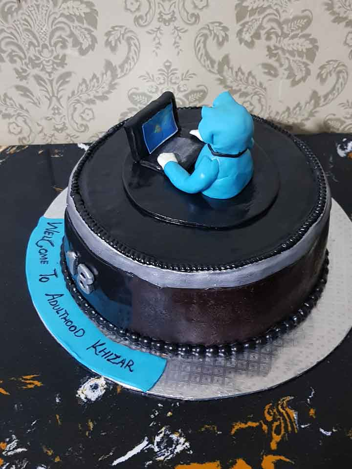 Computer Design Cake