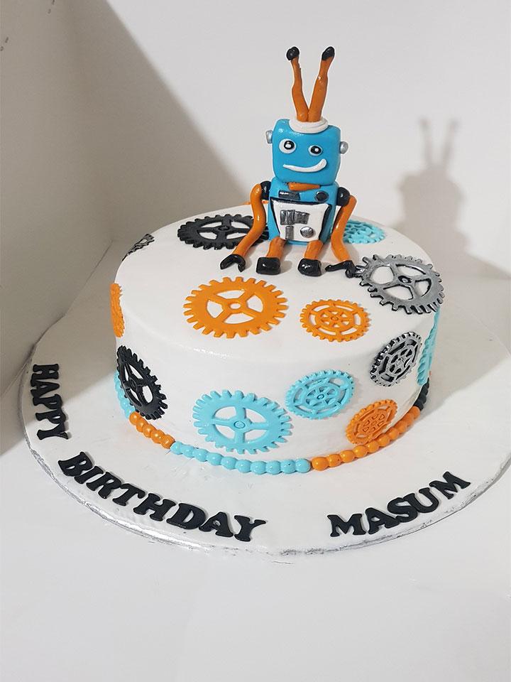 Robot Cake