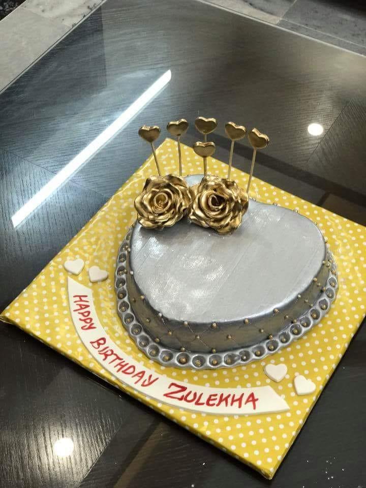 Silver Golden Cake