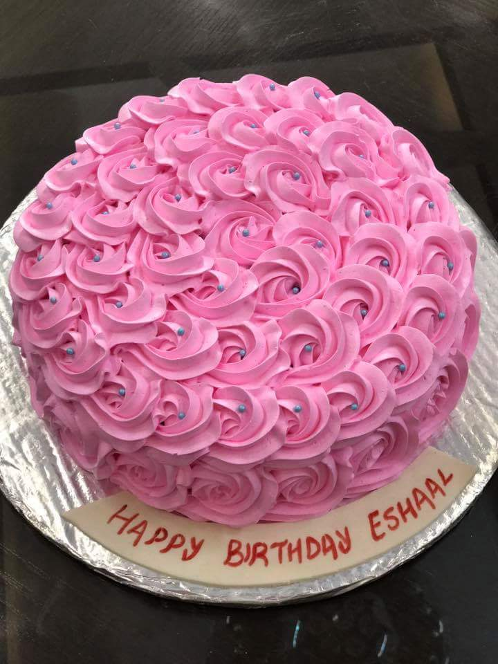 Stupendous Affordable Reliable Online Rose Cake Is One Click Away To You Birthday Cards Printable Nowaargucafe Filternl