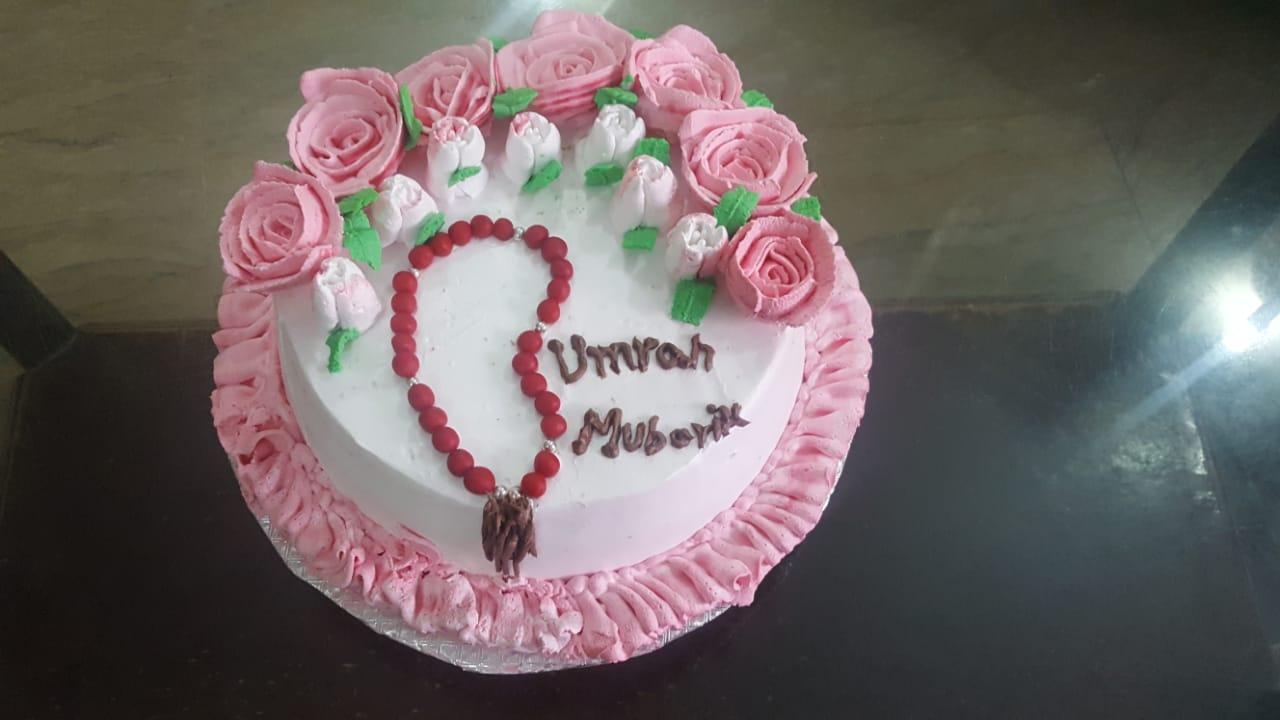 Umrah theme cake