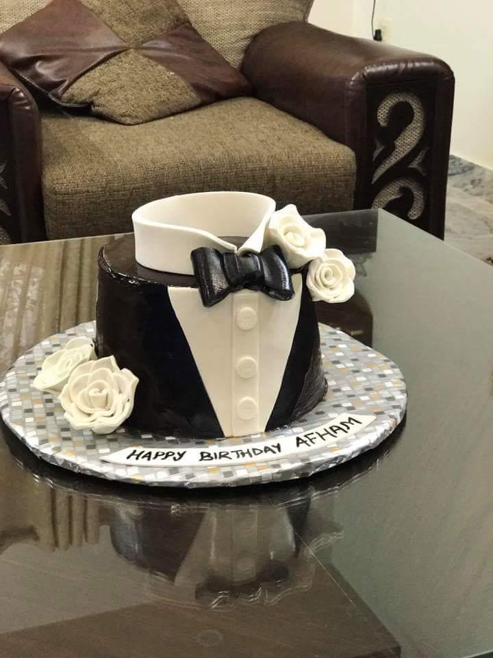 Coat Style Cake