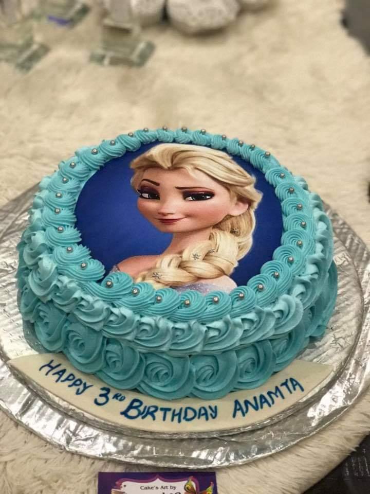 Elas Theme Cake