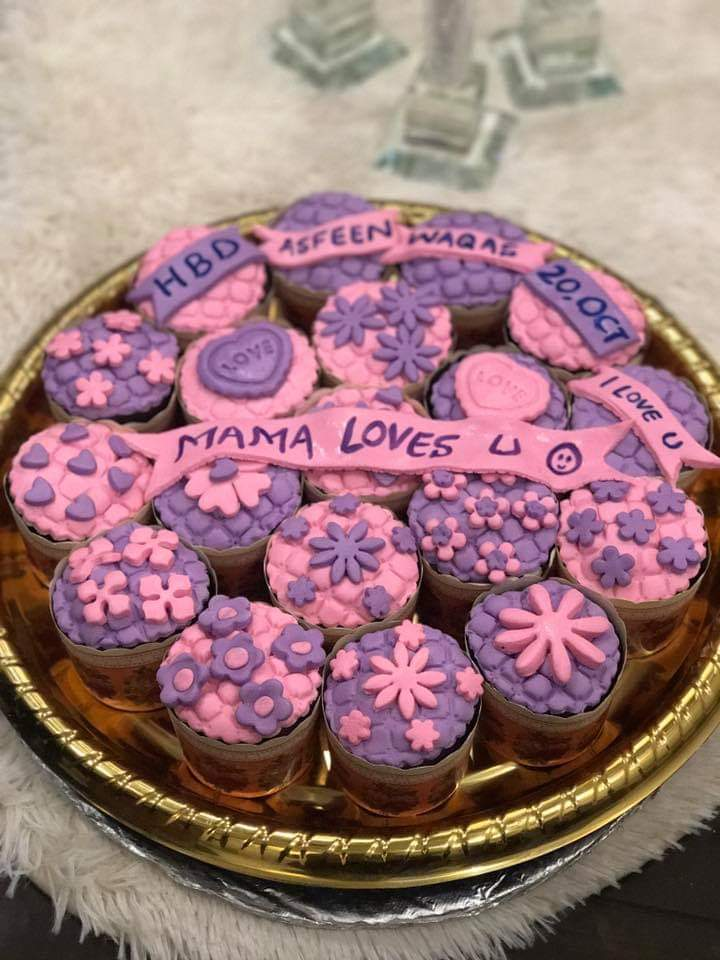 Customized Cup Cake