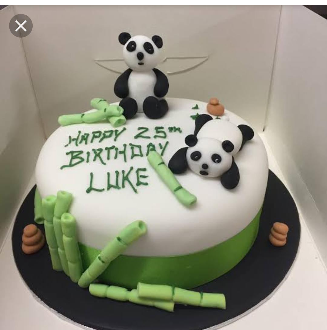 Buy Panda Cake Online Right Now Cakes Com Pk