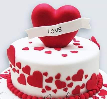 Small Heart Cake