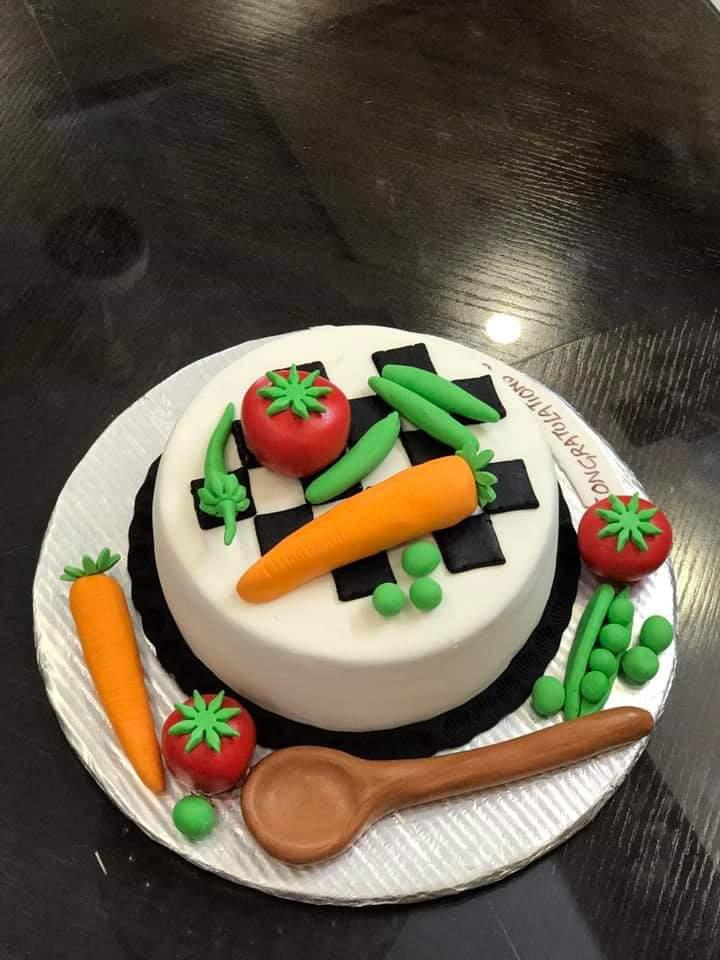 Kitchen Theme Cake