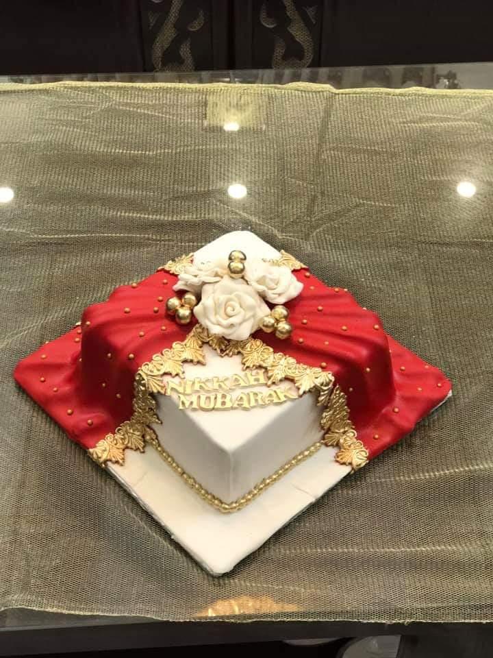 Nikah Mubarak Cake