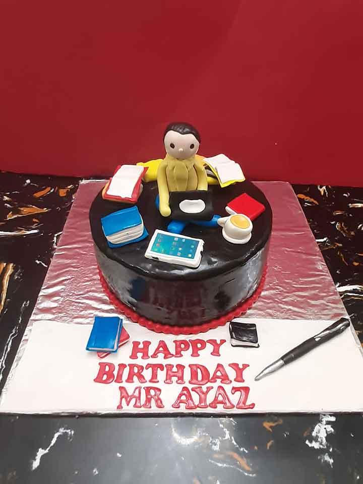 Ayaz Books Cake