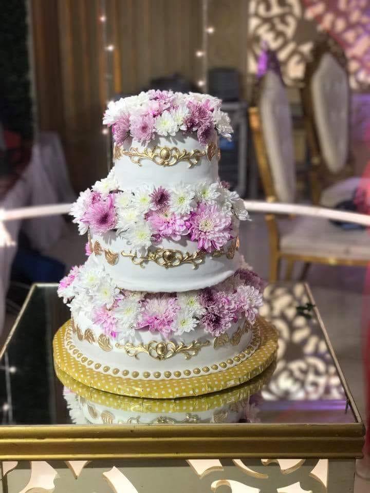 Fondant princess cake