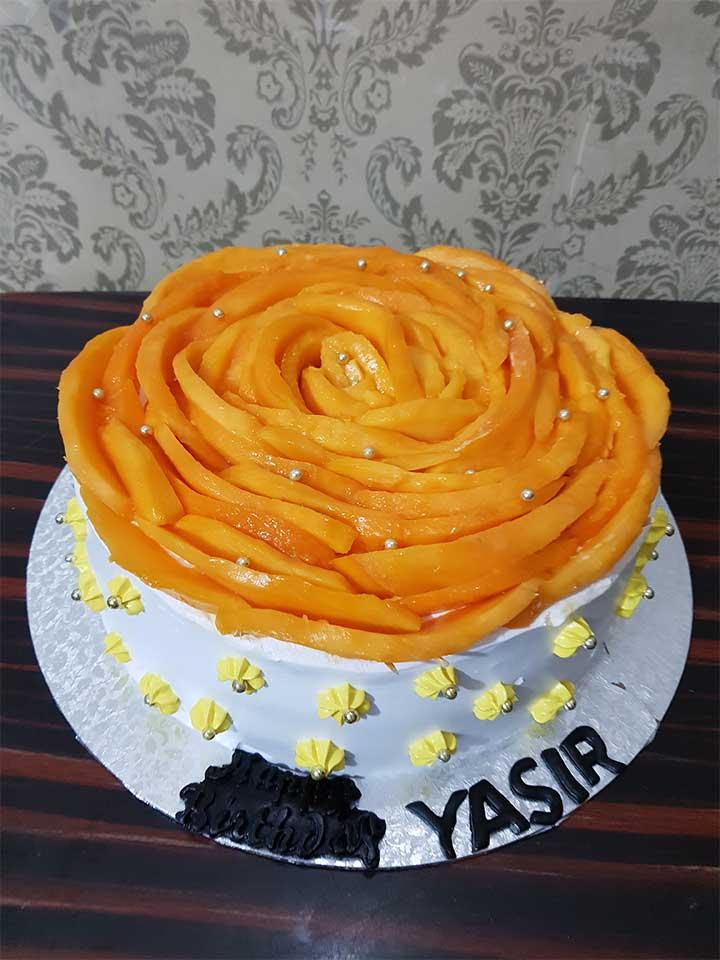 Chaunsa Mango Cake