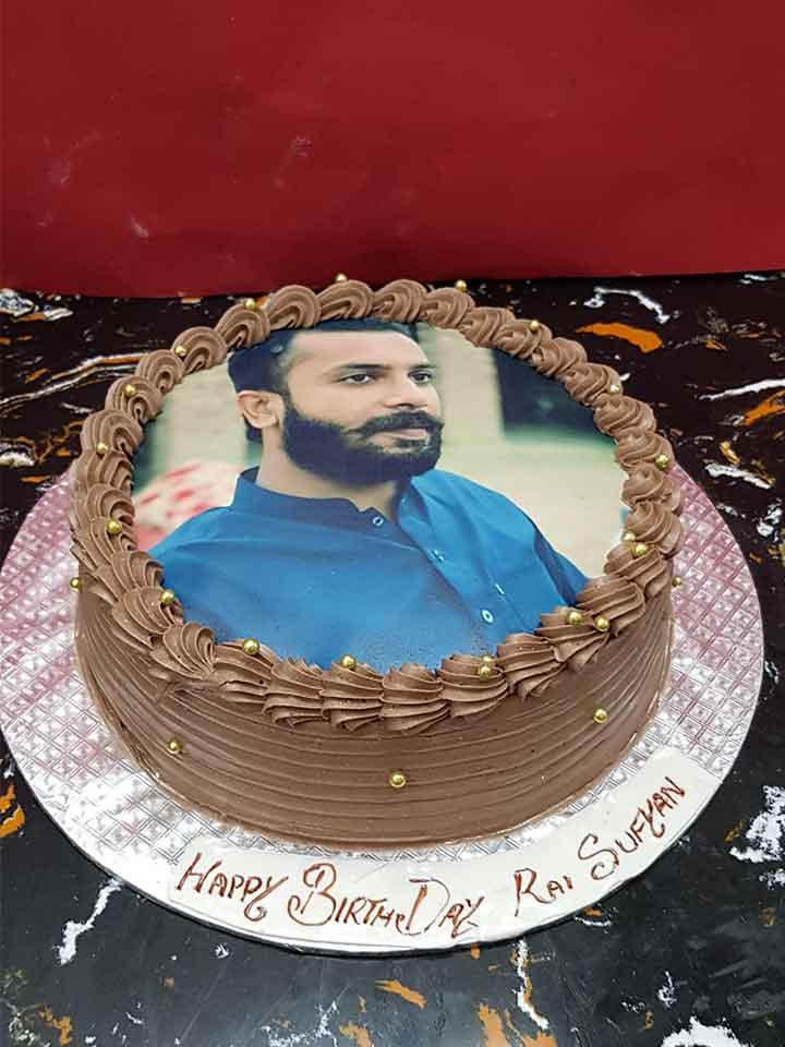 Men Picture Cake