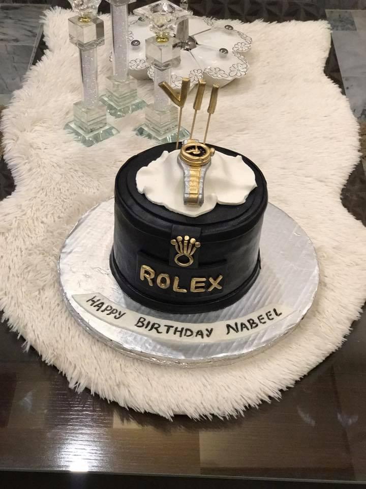 Rolex Theme Cake