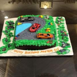 cars birthday decorating cakes