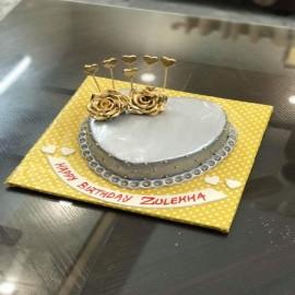 online Silver Golden Cake