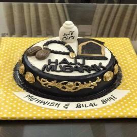 hajj Mubarak cake toppers