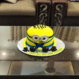 online minion 3d cake