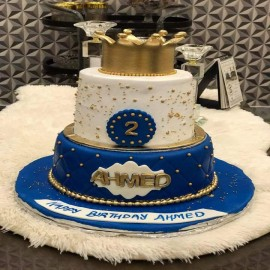 Crown Theme Cake