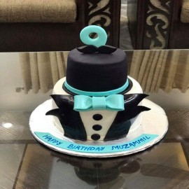 simple mens birthday cake