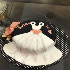 sweatiest bridal shower cake