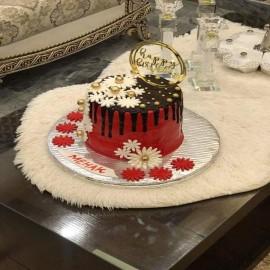 LAYERED CONFETTI CAKE
