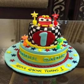 Dholki theme cake