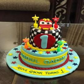 Brid nest theme cake