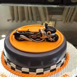 Bike Theme Cake