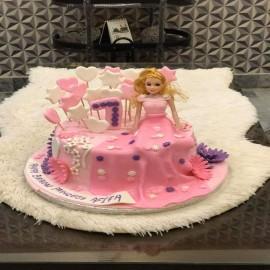 Bottle theme cake