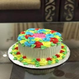 Flower cake Lahore