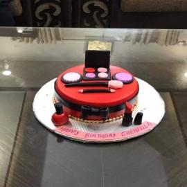 make up cake design