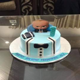 boss baby themed cake