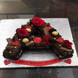 Alphabet Design cake