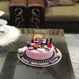 makeup cake designs in lahore