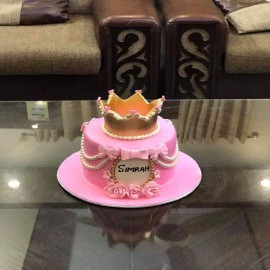 crown cake for a man
