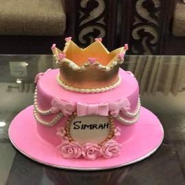 king crown birthday cake
