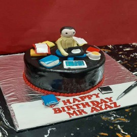 book cake design