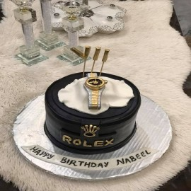 Rolex Theme Cake in pakistan
