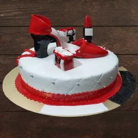 Sandal Design Cake