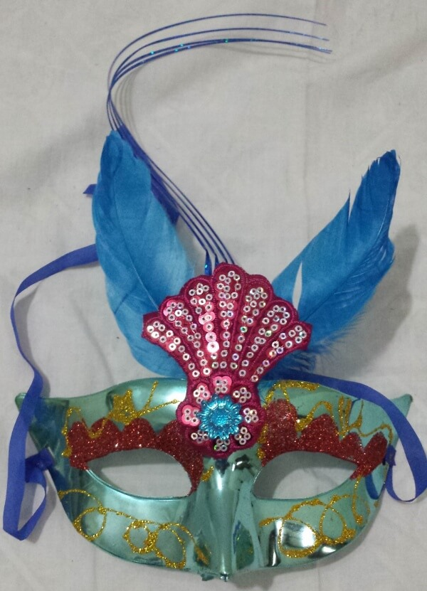 Party mask Blue